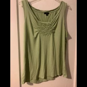 Talbots Green Tank top
